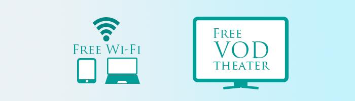 free Wifi VOD